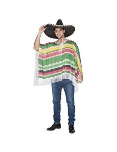 Poncho Mejicano adulto Tienda de disfraces online - venta disfraces