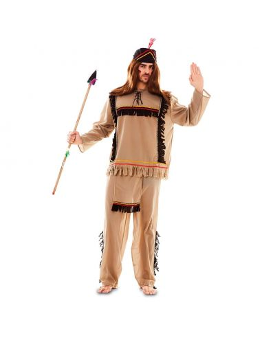 Disfraz de Indio para hombre adulto Tienda de disfraces online - venta disfraces