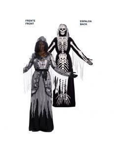 Doble Disfraz de Muerte y Sirena Esqueleto adulto Tienda de disfraces online - venta disfraces