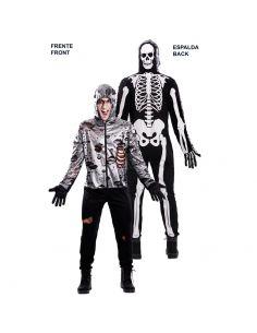 Doble Disfraz de Zombie y Esqueleto adulto Tienda de disfraces online - venta disfraces