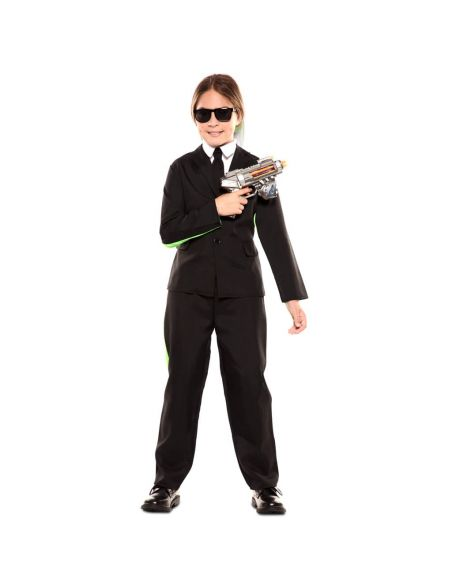 Doble Disfraz de Traje Negro y Alíen infantil Tienda de disfraces online - venta disfraces