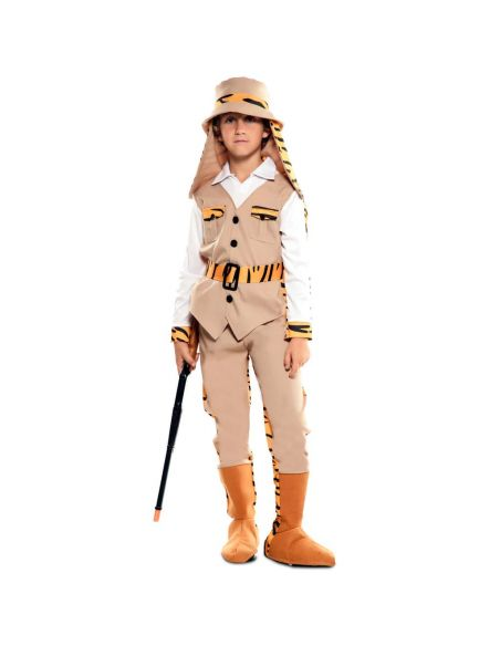 Doble Disfraz de Cazador y Tigre infantil Tienda de disfraces online - venta disfraces