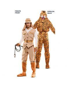 Doble Disfraz de Cazador y Tigre adulto Tienda de disfraces online - venta disfraces