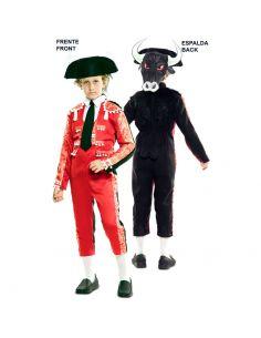 Doble Disfraz de Torero y Toro infantil Tienda de disfraces online - venta disfraces