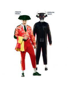 Doble Disfraz de Torero y Toro adulto Tienda de disfraces online - venta disfraces