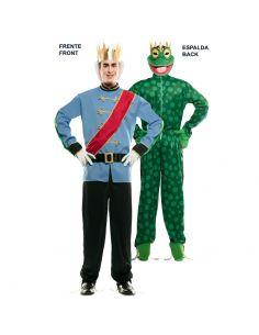 Doble Disfraz de Príncipe y Rana adulto Tienda de disfraces online - venta disfraces