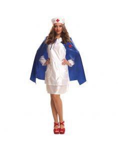 Disfraz Enfermera Con Capa mujer Tienda de disfraces online - venta disfraces