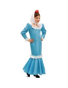 Disfraz Madrileña Azul bebe Tienda de disfraces online - venta disfraces