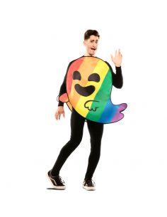 Disfraz de Emoticono Fantasma Arcoíris adulto Tienda de disfraces online - venta disfraces
