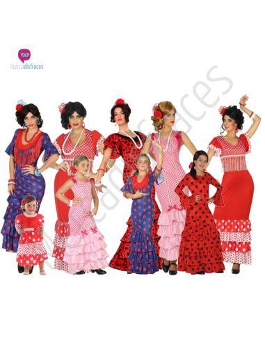 Disfraces para grupos de Flamenco baratos Tienda de disfraces online - venta disfraces
