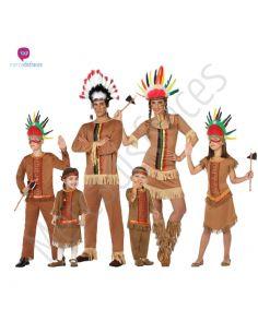 Disfraces Grupo Pareja de Indios Tienda de disfraces online - venta disfraces