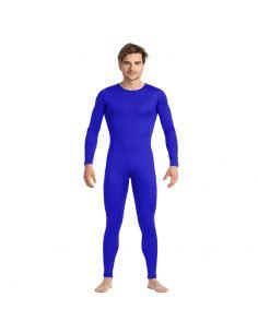 Mono de Color Azul para Hombre