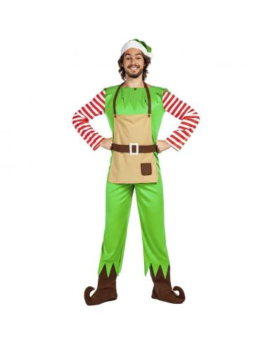 Disfraz de Elfo Navidad Adulto Tienda de disfraces online - venta disfraces