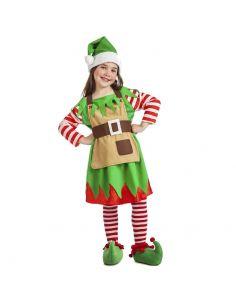 Disfraz de Elfa de Navidad para Niña Tienda de disfraces online - venta disfraces