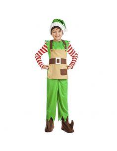 Disfraz de Elfo de Navidad para Niño Tienda de disfraces online - venta disfraces