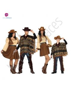 Disfraces para grupos Far West baratos Tienda de disfraces online - venta disfraces