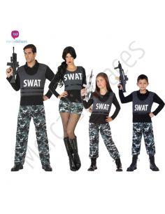 Disfraces para grupos Swat Tienda de disfraces online - venta disfraces