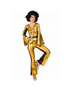 Disfraz de Disco Dorado para Mujer Tienda de disfraces online - venta disfraces