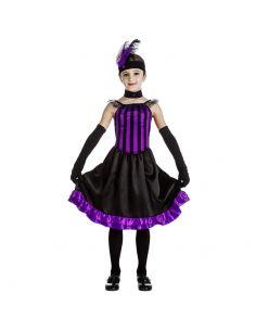 Disfraz de Can Can Purpura para niña Tienda de disfraces online - venta disfraces