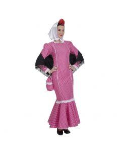 Disfraz de Madrileña Rosa para Mujer Tienda de disfraces online - venta disfraces