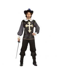 Disfraz de Mosquetero Negro para Adulto Tienda de disfraces online - venta disfraces