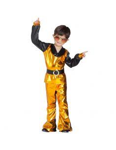 Disfraz de Disco Dorado Infantil Tienda de disfraces online - venta disfraces