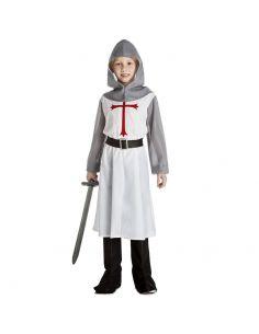Disfraz Caballero Medieval Blanco Infantil Tienda de disfraces online - venta disfraces
