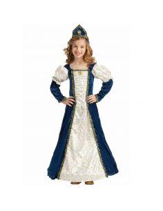 Disfraz de Princesa Medieval Azul Infantil Tienda de disfraces online - venta disfraces