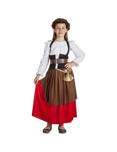 Disfraz de Mesonera Medieval para Niña Tienda de disfraces online - venta disfraces