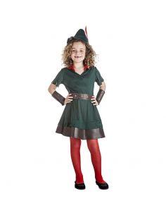 Disfraz de Robín Hood para Niña Tienda de disfraces online - venta disfraces