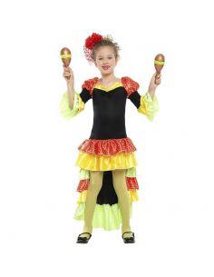 Disfraz de Salsa para Niña