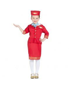 Disfraz de Azafata de Vuelo Infantil Tienda de disfraces online - venta disfraces