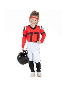 Disfraz de Jugadora de Rugby Infantil Tienda de disfraces online - venta disfraces