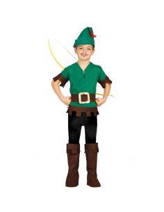Disfraz de Ladrón del Bosque Infantil Tienda de disfraces online - venta disfraces