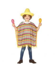 Poncho Mexicano para Infantil Tienda de disfraces online - venta disfraces