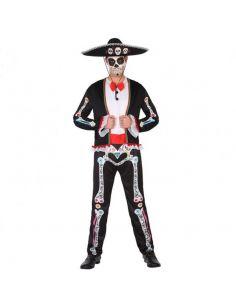 Disfraz de Esqueleto Mexicano para Adulto Tienda de disfraces online - venta disfraces