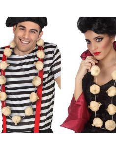 Collar de ajos antivampiros Tienda de disfraces online - venta disfraces