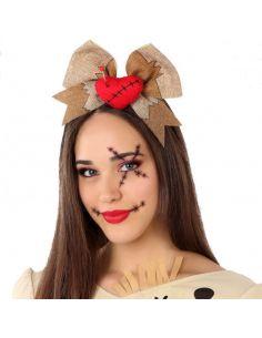 Diadema Siniestra de Corazon Roto Tienda de disfraces online - venta disfraces