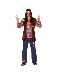Disfraz de Hippie para Adulto Tienda de disfraces online - venta disfraces