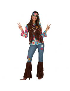 Disfraz de Hippie Adulto Tienda de disfraces online - venta disfraces