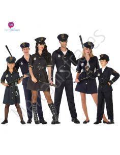 Disfraces Grupo Policias Tienda de disfraces online - venta disfraces