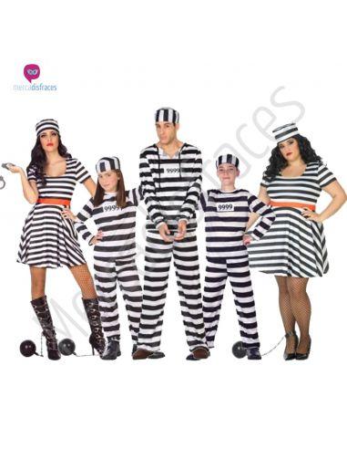 Disfraces Grupos Presos Tienda de disfraces online - venta disfraces