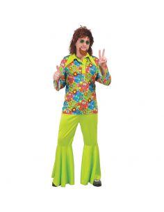 Disfraz Hippie Flower Power para Hombre Tienda de disfraces online - venta disfraces