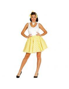 Set Pin Up Amarillo para Mujer Tienda de disfraces online - venta disfraces