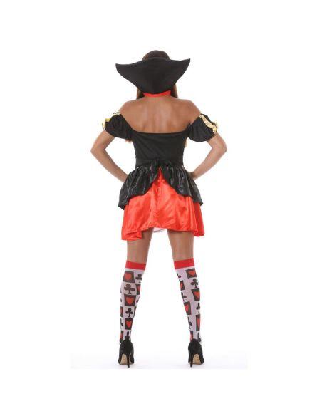 Disfraz de Dama de Corazones para Mujer Tienda de disfraces online - venta disfraces