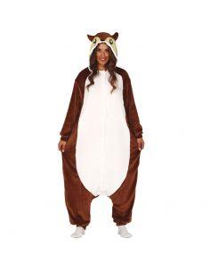 Disfraz de Pijama de Ardilla para Adulto Tienda de disfraces online - venta disfraces