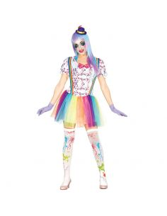 Disfraz de Payasa para Mujer