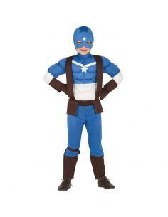 Disfraz de Capitán Superhéroe para Infantil Tienda de disfraces online - venta disfraces