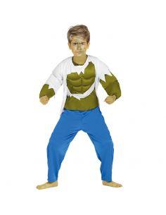 Disfraz de Forzudo Verde Infantil Tienda de disfraces online - venta disfraces