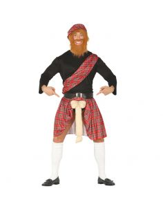 Disfraz Escocés con Sorpresa para Adulto Tienda de disfraces online - venta disfraces